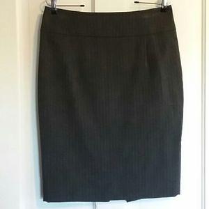 Black & Gray Stretch Pencil Skirt Size 8 ☄EUC☄